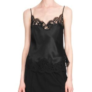 Givenchy Tops - Givenchy Lace-Trim Underpinning Camisole
